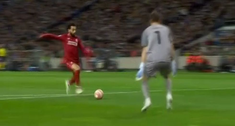 Golazo de Salah tras un contragolpe fulminante de cinco pases en el Liverpool vs Porto por Champions League
