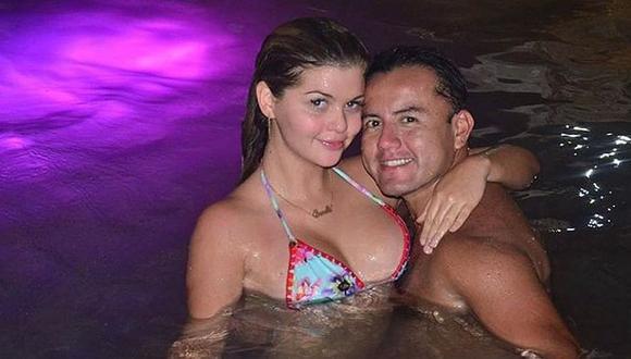 Brunela Horna y Richard Acuña