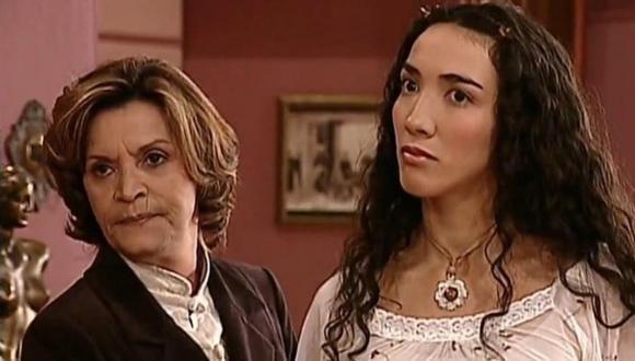 """En """"Pasión de gavilanes"""", Leonelia González dio vida a la prima de Dinora, la antagonista de la serie colombiana. (Foto: Caracol TV)"""