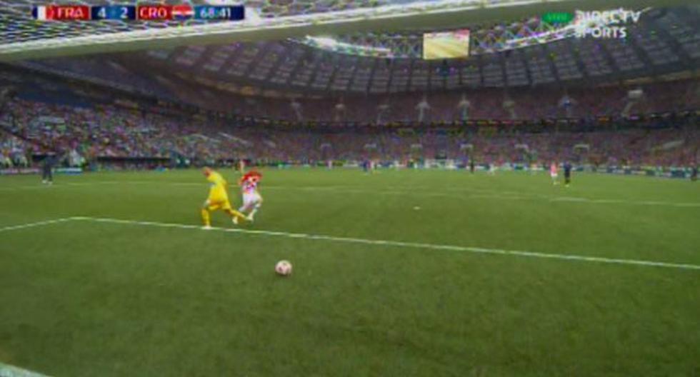 Francia vs Croacia: Gol de Mandzukic (Autor: FIFA | Fuente: DirecTV)