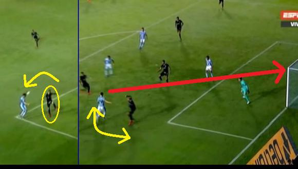 Gol de Racing: Quijada la regaló, a Rodríguez lo bailaron y Raniero le marcó a Alianza en Copa Libertadores Video