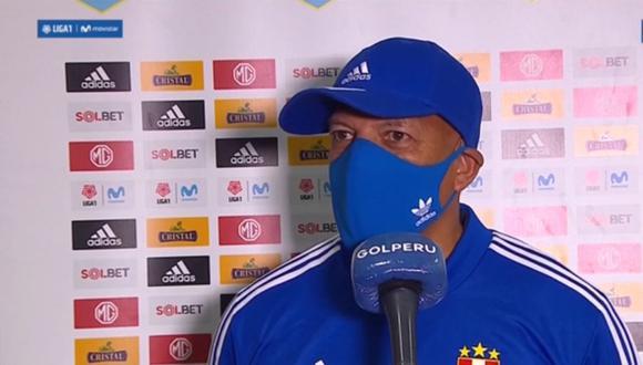 Roberto Mosquera no se confía pese a victoria ante Universitario en la primera final de Liga 1