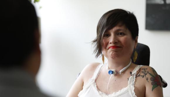 Ana Estrada sufre de polimiositis, enfermedad degenerativa muscular |Foto: EFE/Paolo Aguilar