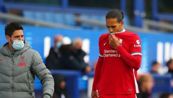 Virgil van Djik anuncia con optimismo su regreso tras grave lesión.