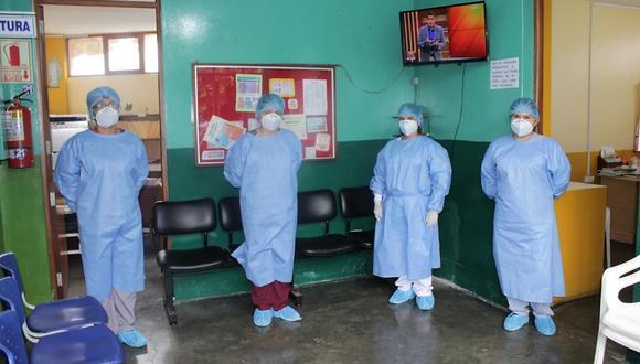 Áncash: los profesionales de salud brindaron el servicio de teleorientación y teleconsejería para los pacientes con VIH, con el fin de que continúen con el tratamiento. (Foto: Difusión)
