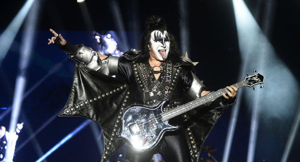 """Kiss ofrecerá concierto en Perú como parte de su tour de despedida """"End of the Road"""". (Foto: AFP)"""
