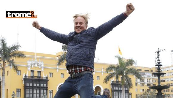 El gringo Karl vive como todo un granjero en las afueras de Lima. (GEC)