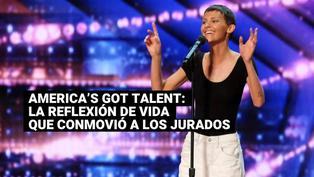 America's Got Talent: La emotiva reflexión de una participante con cáncer que conmocionó a los jurados