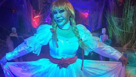 La Tigresa del Oriente se disfrazó de 'Annabelle' en Halloween y fue la sensación