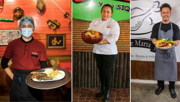 Conoce la historia de tres emprendedores de San Juan de Lurigancho que no se dejaron vencer por las adversidades y, poco a poco, están 'saliendo a flote'. Fotos: Trome.