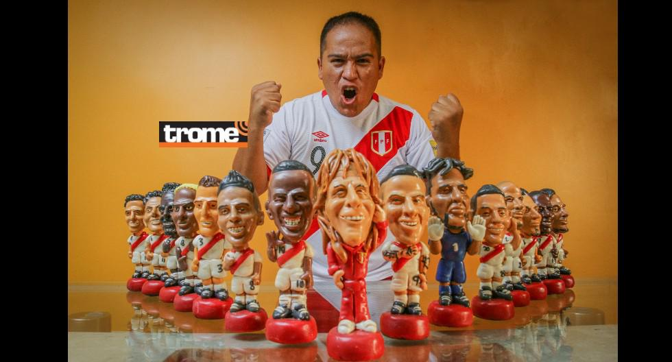 Peruano moldea a la selección y también a Daniel Peredo en 'Plastifiguras'. (Trome)