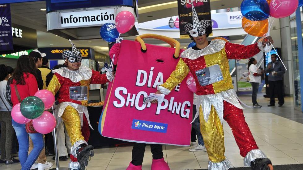 Para atraer al público por el 'Día del Shopping', en centros comerciales habrá ofertas, promociones 2×1, descuentos entre 30 y 70% y eventos. (FOTOS: Isabel Medina / Trome / Difusión)