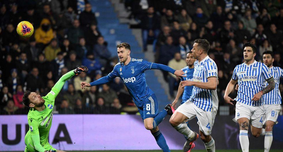 Juventus vs SPAL Goles Cristiano Ronaldo resumen y resultado del partido 2-1