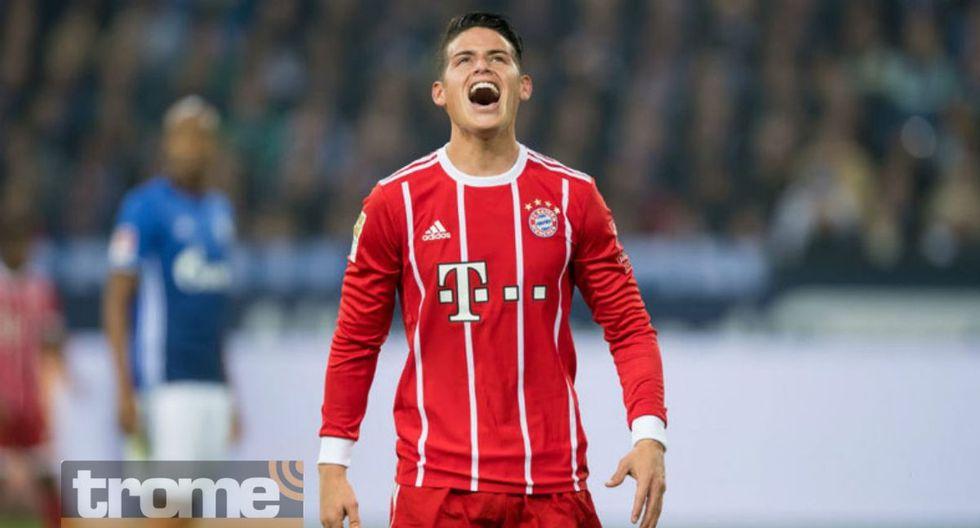 James Rodríguez solicitó no continuar en Bayern Munich.
