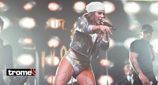 """Yahaira Plasencia se pronuncia por duras críticas a su físico durante su concierto: """"Ok, haré gym"""""""