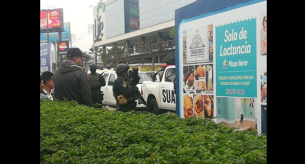 Delincuentes desataron el terror en el interior del Centro Comercial Plaza Norte