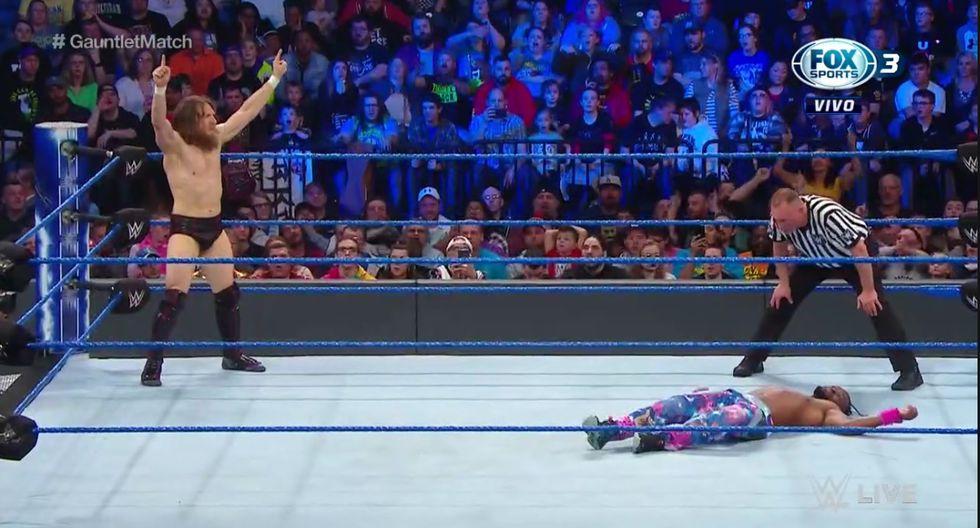 Triste final para Kofi Kingston. (WWE)