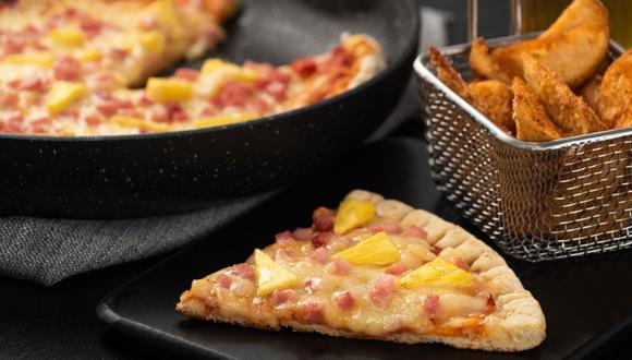 Pizza a la hawaiana. (Foto: Kiwilimón)