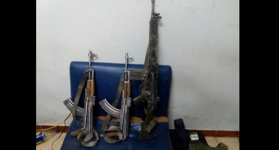 Policías fueron capturados cuando se disponían a robar en una carretera de Huamanga, en Ayacucho.