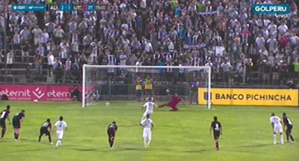 Alianza Lima vs UTC: Gol de Felipe Rodríguez (Video: Gol Perú)