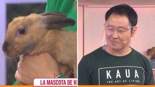 """Conoce la historia de Kenji Fujimori y su mascota """"Tampoco tampoco"""""""
