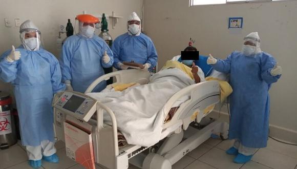 Huancavelica. El paciente invocó a la población a acatar las disposiciones del Gobierno y quedarse en casa. (Foto: Diresa)