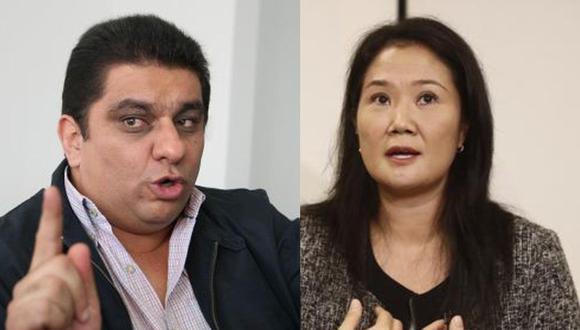 Keiko Fujimori no respondió si casa en la que era entrevistada era del excongresista Carlos Raffo. (Fotos: GEC)