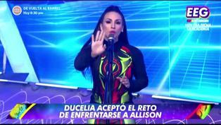 """Ducelia Echevarría discute con Allison Pastor y le recuerda su renuncia a """"Reinas del show"""""""