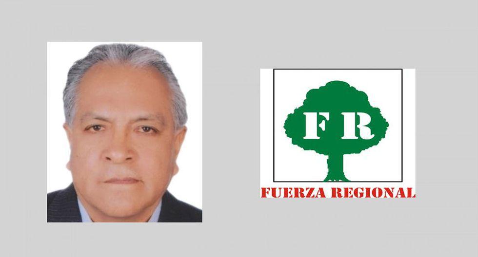 Lima provincias: Ricardo Chavarría, de Fuerza Regional. (Foto: Perú Voto informado)