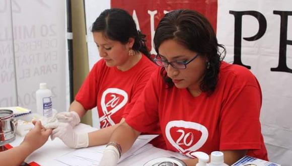 Prevención de VIH -SIDA en Perú (Foto: AHF Perú)