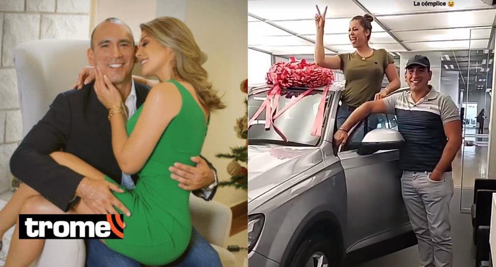 Karla Tarazona: Rafael Fernández le regaló una tremenda camioneta por su primer mes de casados