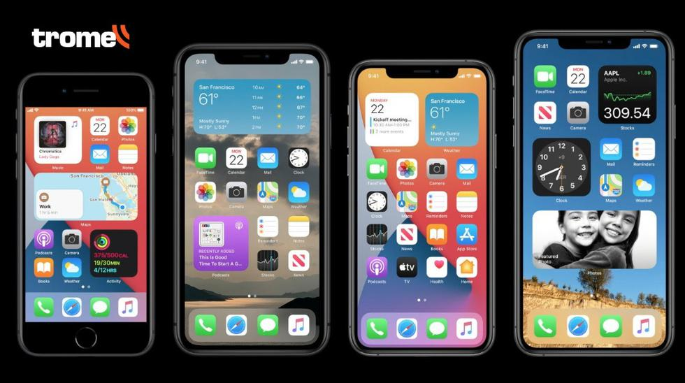 Apple presenta iOS 14