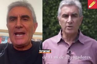 """Juan Carlos Oblitas denuncia Perú Libre utilizó su imagen: """"Este video no les pertenece y ahora lo usan como propaganda"""""""