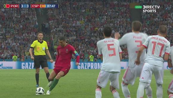 Gol 3 de Portugal