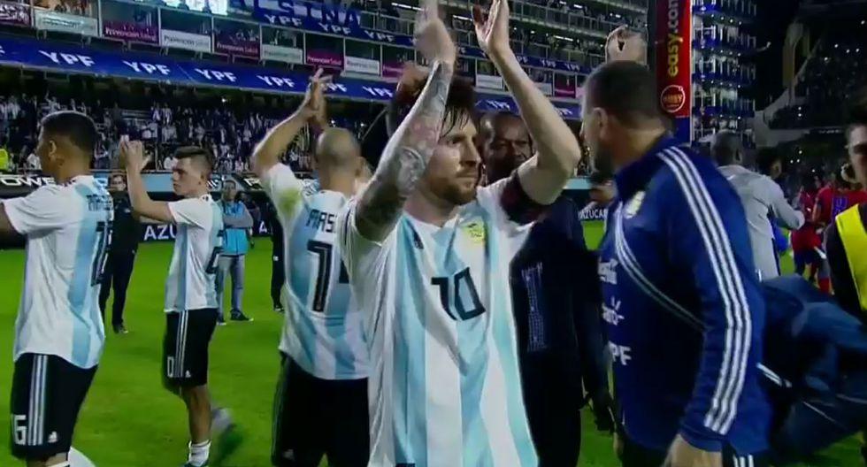 Lionel Messi recibió increíble ovación en la Bombonera.