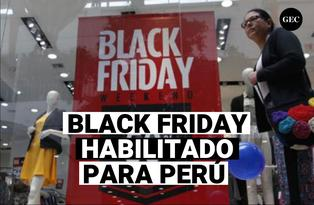 El verdadero Black Friday llega a Perú