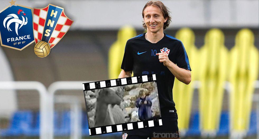 Luka Modric el pastor de cabras que hoy puede convertirse en el campeón de mundo en Rusia 2018