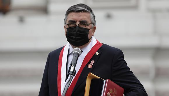 Alex Paredes se pronunció luego de que el presidente Castillo tomara juramento a su Gabinete. (Foto: Archivo GEC)