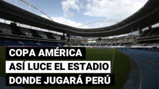 Perú vs. Brasil: así luce la cancha del Nilton Santos a un día del debut en Copa América