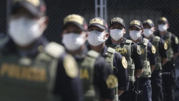 El comandante general de la PNP, Max IglesiasAlrededor, informó que alrededor de 24 policías han fallecido por COVID-19. (Foto: César Campos/GEC)