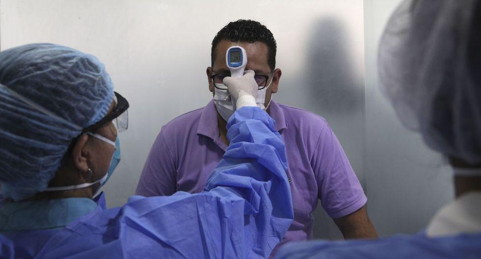 Sube el número de contagiados con coronavirus en el Perú en el día 22 del Estado de Emergencia | lunes 6 de abril | TROME | AP Photo/Martin Mejia