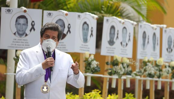 Colegios profesionales y gremios de la salud también participarán del plantón a llevarse a cabo el martes 13 de julio. (Foto: GEC)
