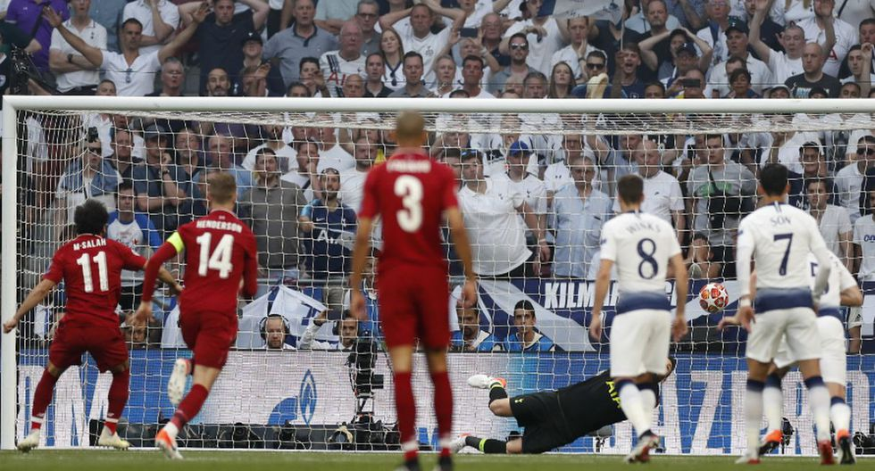 Mohamed Salah y su GOL al ¡MINUTO 2 del Liverpool vs Tottenham por final de Champions League! (Fotos: Agencias)