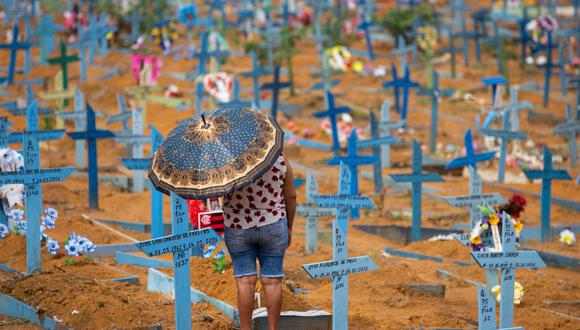 Brasil es el segundo país del mundo con más muertes por COVID-19 después de Estados Unidos, y el tercero con más infectados, por detrás de los norteamericanos y la India. (Foto: Michael DANTAS / AFP)