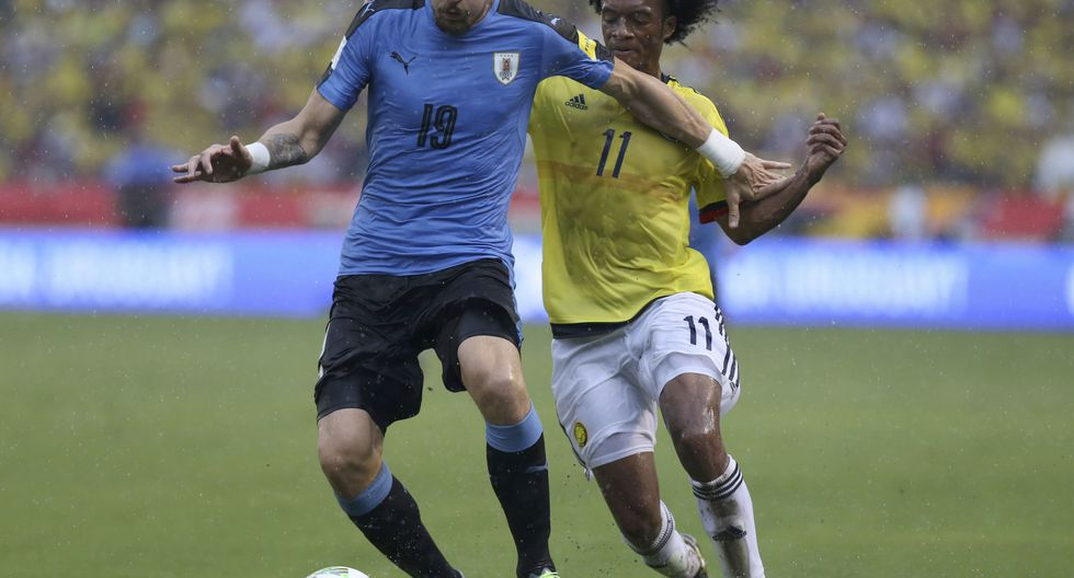 Sebastián Coates - Uruguay. (Foto: AP).