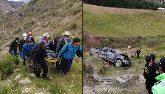 accidente ocurrió la madrugada de hoy (Foto: PNP)