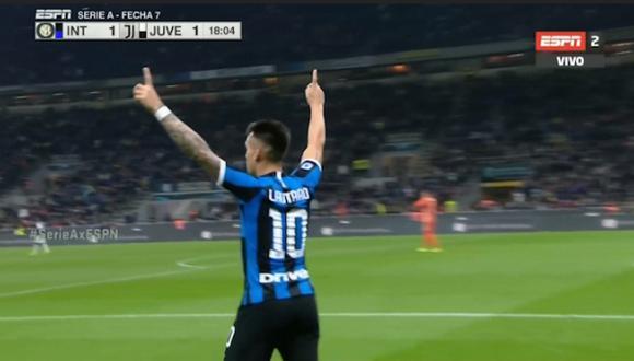 Gol 1 de Inter