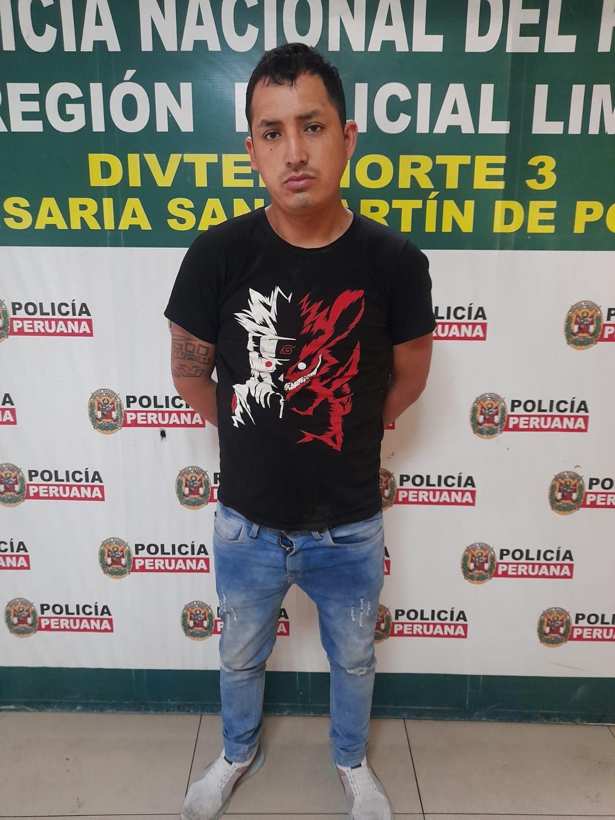 Franklin Jonathan MellishoChampi (26), requisitoriado por violación sexual en Ancash en 2018, y detenido por ultrajar a una venezolana en un hostal, escapó de la comisaría de San Martín de Porres.