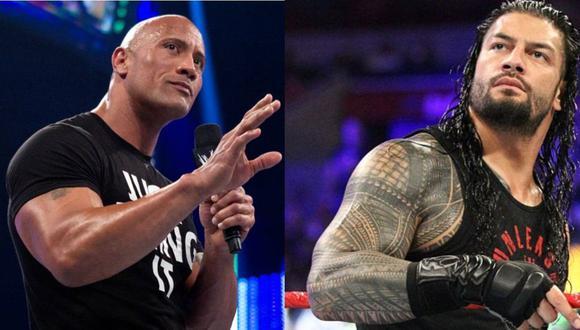 'La Roca' no tendría ningún problema en pelear con Roman Reigns. (WWE)