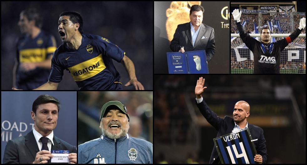 Riquelme, Verón, Passarella y otros jugadores que se volvieron directivos de clubes de fútbol